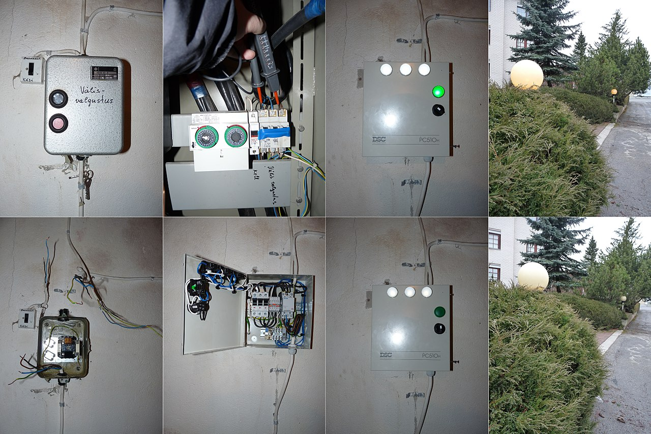 file outdoor lighting control panel