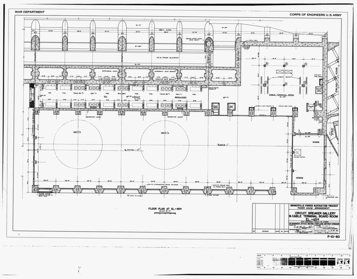 File Photocopy Of Original Construction Drawing Dated 24