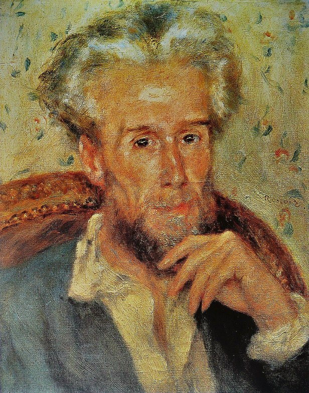 Pierre-Auguste Renoir - Victor Chocquet
