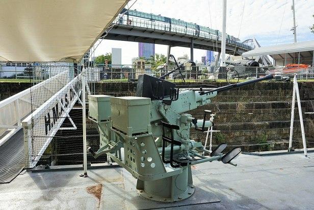 Queensland Maritime Museum - Joy of Museums - HMAS Diamantina (K377) 6
