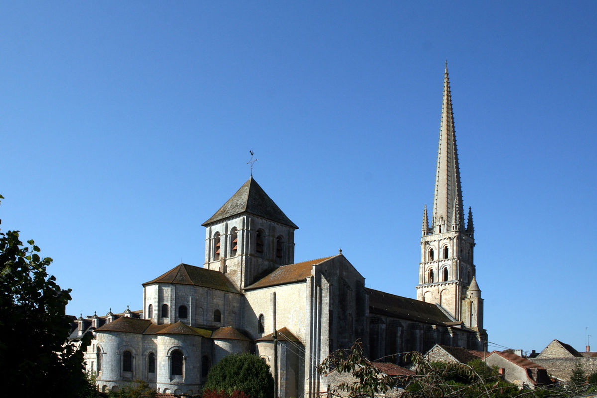 Abbey Church Of Saint Savin Sur Gartempe Wikipedia
