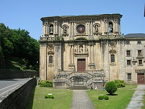 Mosteiro de San Xulián de Samos, Samos, Galici...
