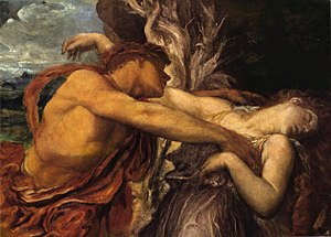 George Frederick Watts - Orpheus and Eurydice