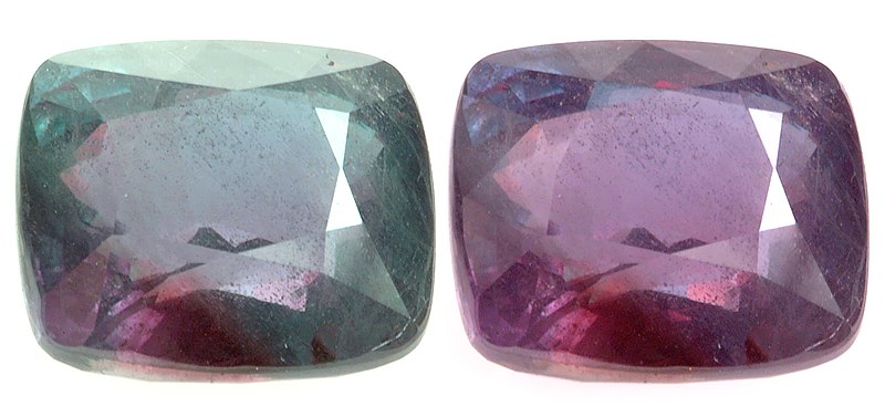 These are actually the same Gem in slightly different ambient lights.