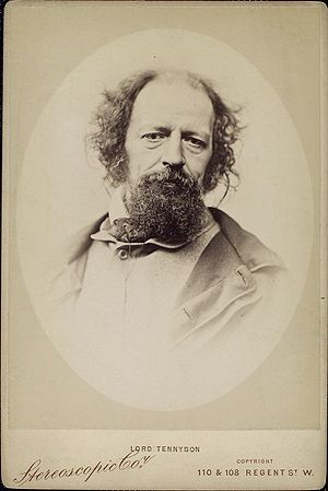 English: Alfred Tennyson, British poet