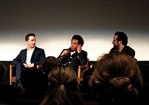 English: Q&A after Black Swan at The Aero, San...
