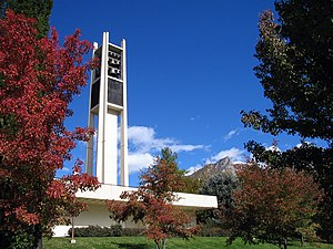 The BYU Carillon stands as one of the landmark...