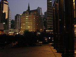 Hongkong pada malam hari