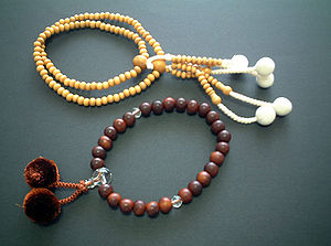 Mala, Buddhist prayer beads.