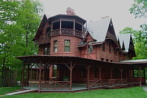 English: Mark Twain House, Hartford, CT