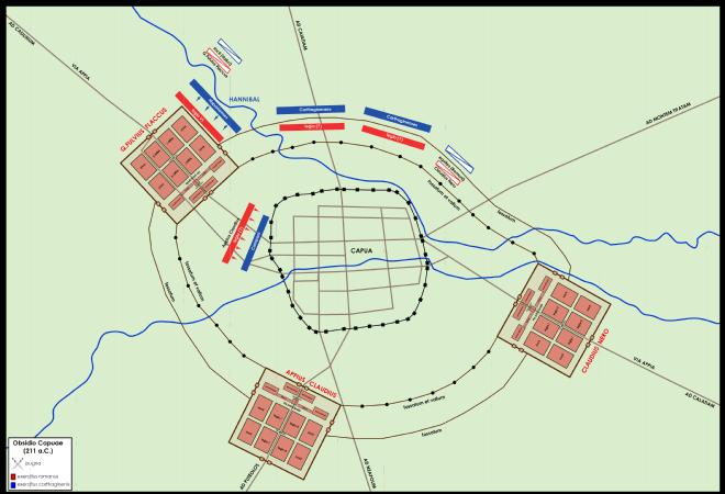 Assedio di Capua 211 aC  Wikipedia
