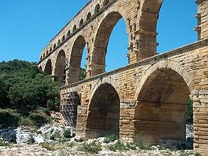 Deutsch: Pont du Gard bei Nimes in Frankreich.