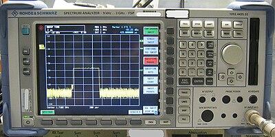 Electronics HandbookMeasuring DevicesSpectrum Analyser