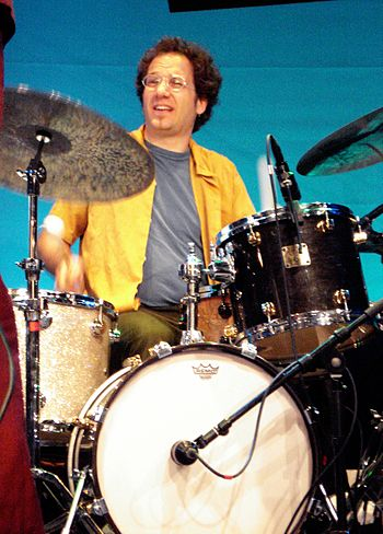 English: Scott Amendola live at Saalfelden 200...