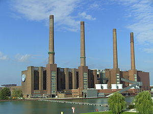 Volkswagen Wolfsburg industrial plant (Wolfsbu...
