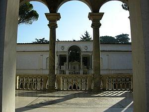 Ninfeo di Villa Giulia a Roma.