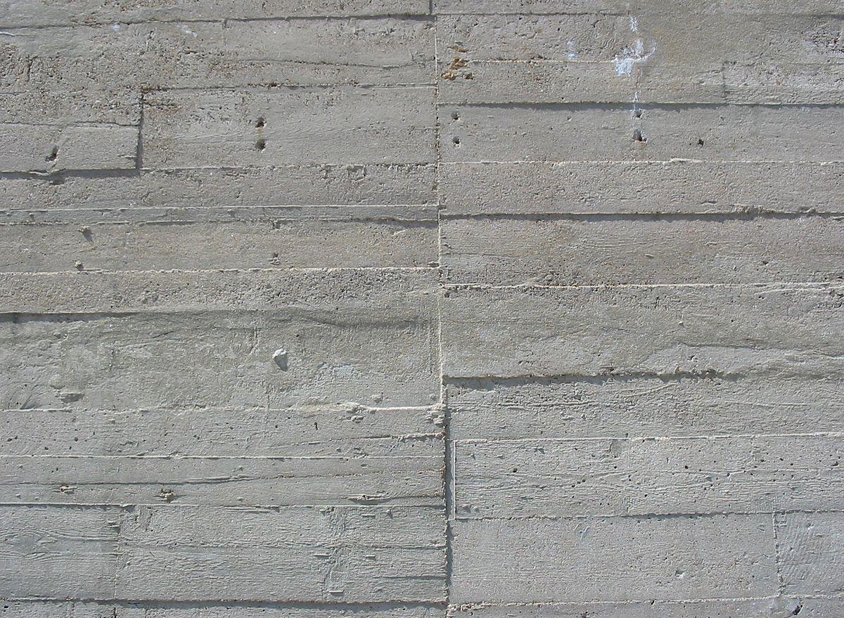 File:Wood grain German Occupation bunker concrete 3.jpg