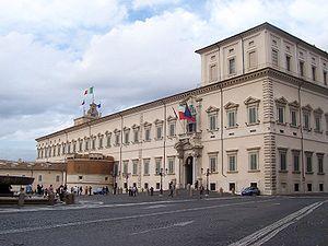 Italiano: Roma - Palazzo del Quirinale