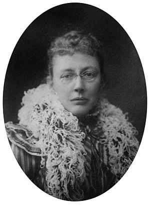 Agnes Repplier (1855-1950), American essayist