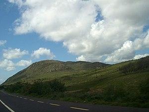 English: Barrack Hill; approach to Barnsmore Gap