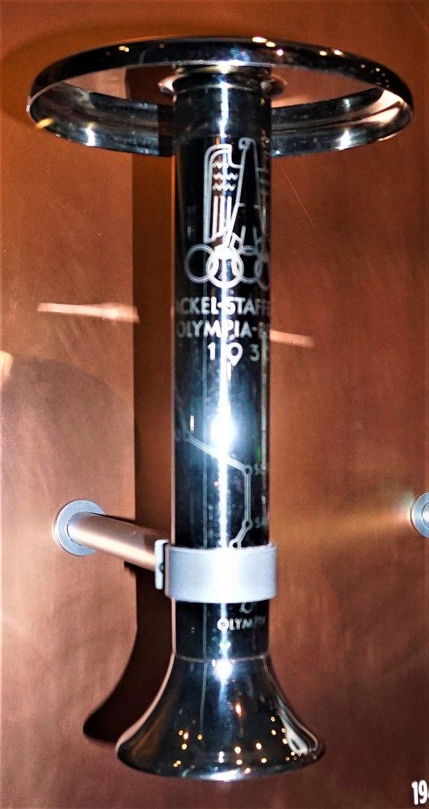 Berlin 1936 Olympic Torch - www.joyofmuseums.com - National Sports Museum