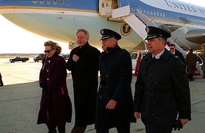 English: President William Jefferson Clinton a...