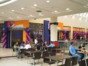 First Taco Bell Restaurant in Cyprus at the My...