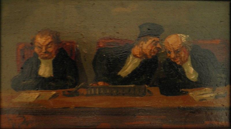 Ficheiro:Daumiertroisjuges.jpg