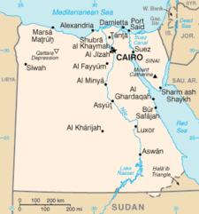 Peta Mesir