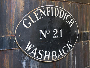 Glenfiddich's wooden washbacks