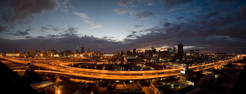 File:Johannesburg Sunrise, City of Gold.jpg