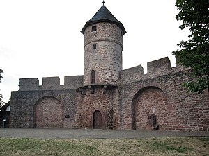 The defensive wall of Kirchhain