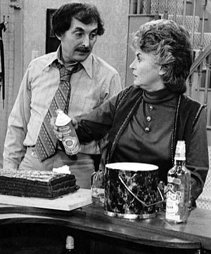 Publicity photo of Bill Macy and Bea Arthur fr...