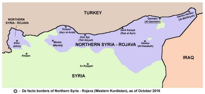 Northern Syria - Rojava october 2016