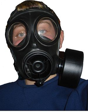 English: S10 Gas Mask Respirator Avon
