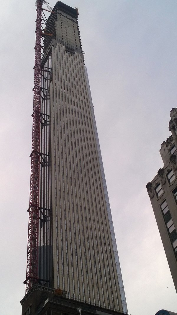 Current Height of the Steinway Tower