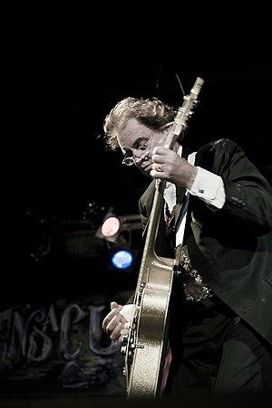 English: Terry Reid performing at B.B. Kings, ...