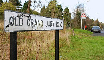 English: The Old Grand Jury Road, Saintfield (...