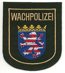 Ordnungsgemäßer Schutz nur durch staatliche Polizei möglich? (Bildquelle: Wikipedia)