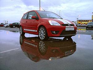 English: 2005 European Ford Fiesta ST - Ford F...
