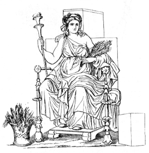 Greek Goddess Demeter