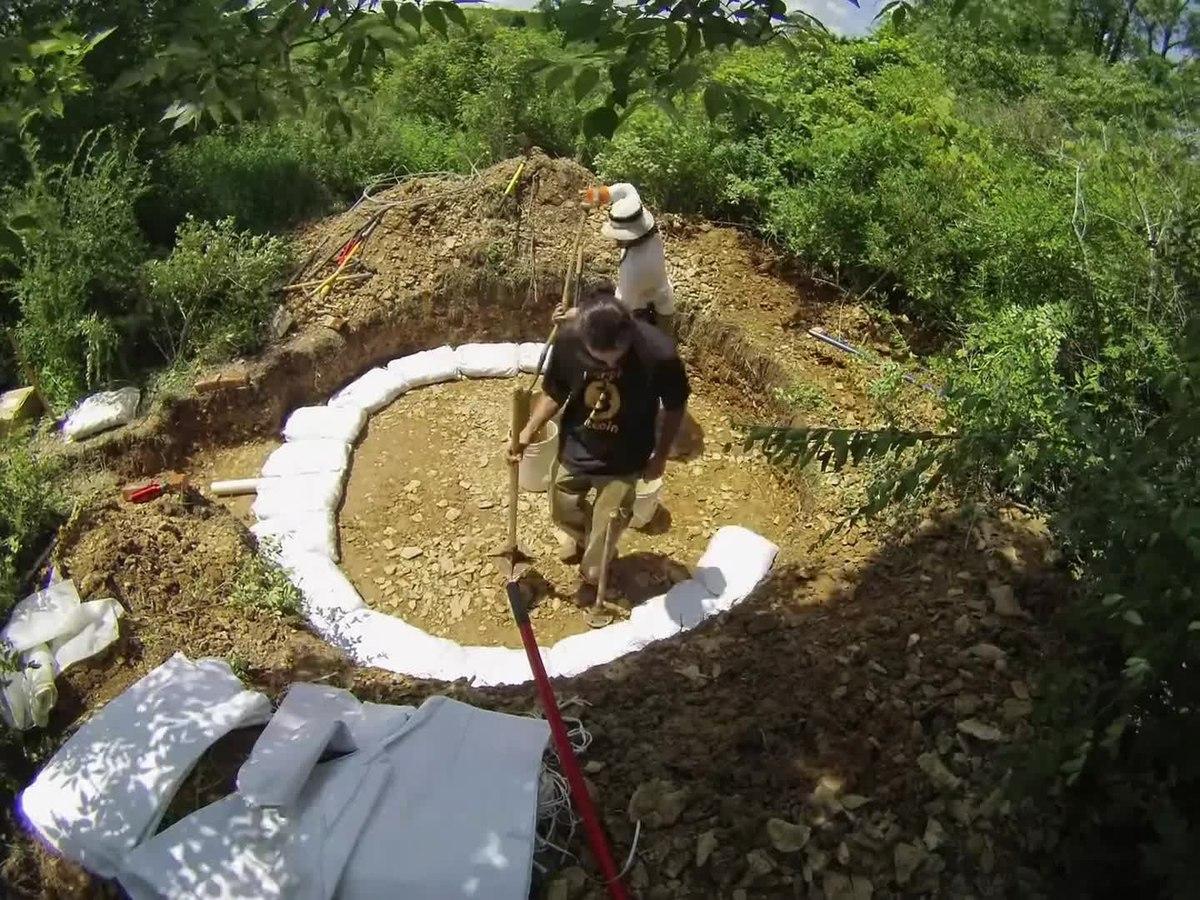 Earthbag Construction Wikipedia