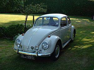 VW Beetle, RHD