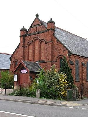 English: Grassmoor - Methodist Church
