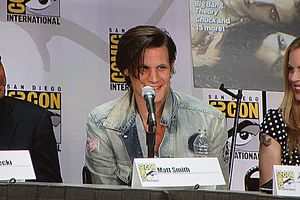 The actor Matt Smith at San Diego Comic-Con In...