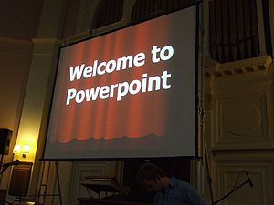 Welcome to Powerpoint on PowerPoint