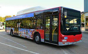 MAN NL 243 CNG LC (Wagen 553) der VAG Verkehrs...
