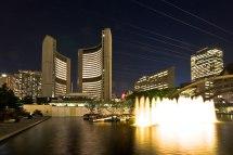 File Toronto City Hall Night - Wikipedia