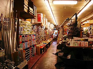Interior, Tweedy & Popp Hardware Store, 1916 N...