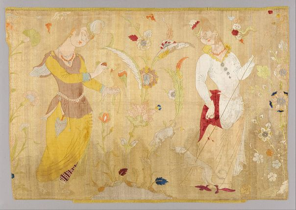Unknown, Iran - Panel from Iran - Google Art Project